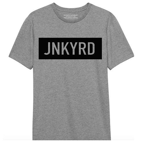 Grey Short Sleeve JNKYRD Box tee