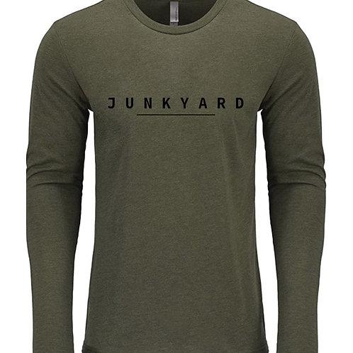 Long Sleeve Military Green Junkyard