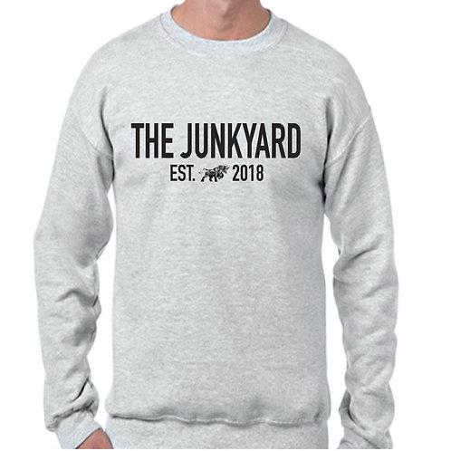 Grey Crewneck Sweatshirt The Junkyard