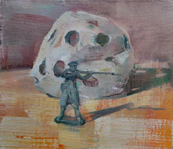 Soldier and Crumpled Ball