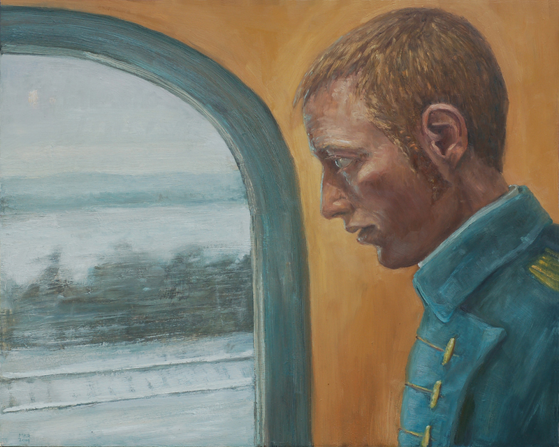 Self-Portrait as an Officer