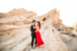 vasquez rocks engagement photography