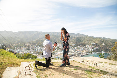 Catalina Island Engagement photography