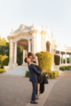 Balboa Park San Diego Engagement photography