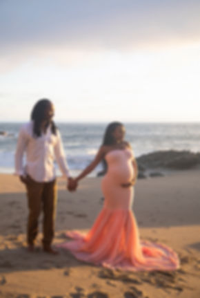 Beach Maternity photo session Los Angeles