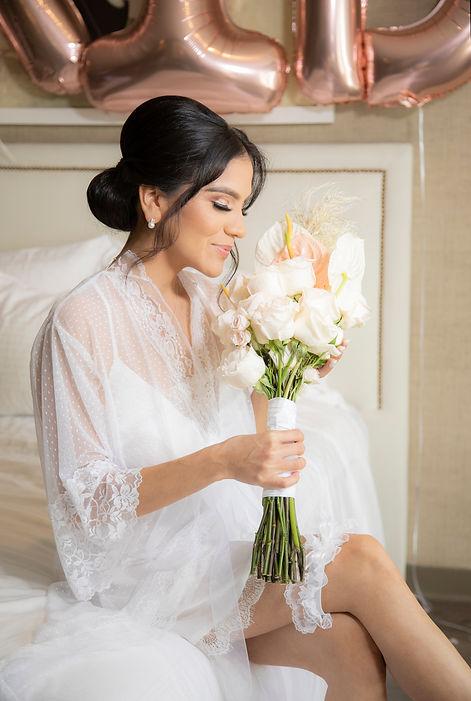 Luxe Sunset Boulevard wedding photography