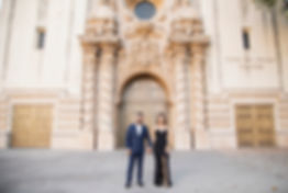 Balboa Park San Diego Engagement photos