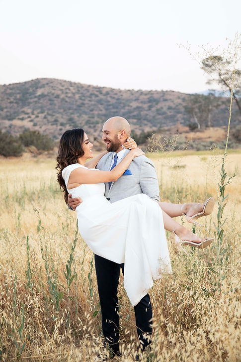 vasquez rocks engagement photos