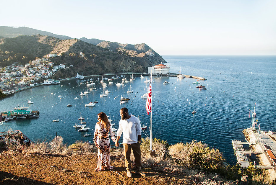 Catalina Island Engagement photography
