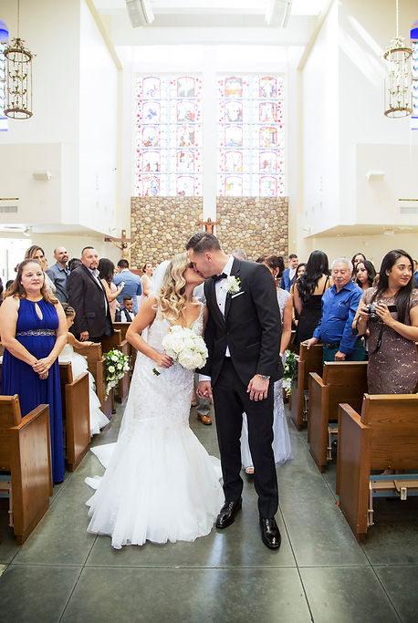 Our Lady of Guadalupe Church Irwindale wedding
