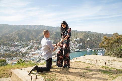 Catalina Island Engagement proposal