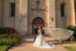 San Gabriel Mission Wedding photography