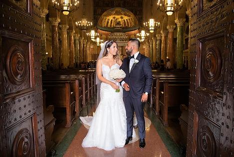 Church St. Andrews Old Pasadena wedding photography