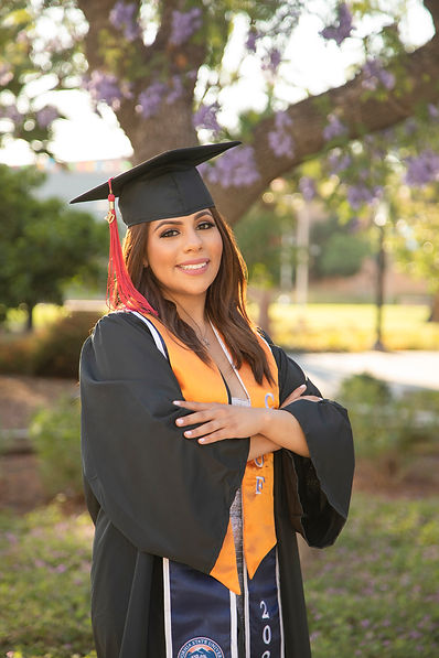 Cal State Fullerton Graduation portraits