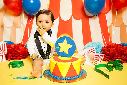 Cake Smash Los Angeles photographer