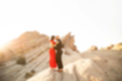 Vasquez Rocks Engagement photography
