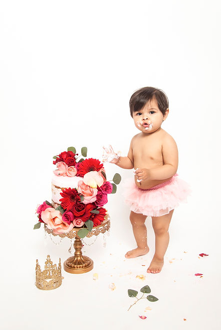 Los Angeles Cake smash photography