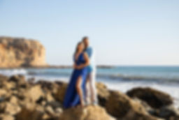 Palos Verdes Beach Engagement Photography
