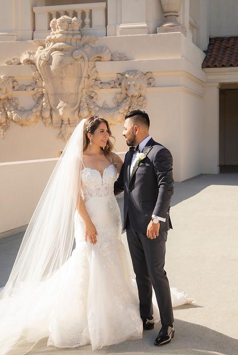 Pasadena city hall wedding photographer