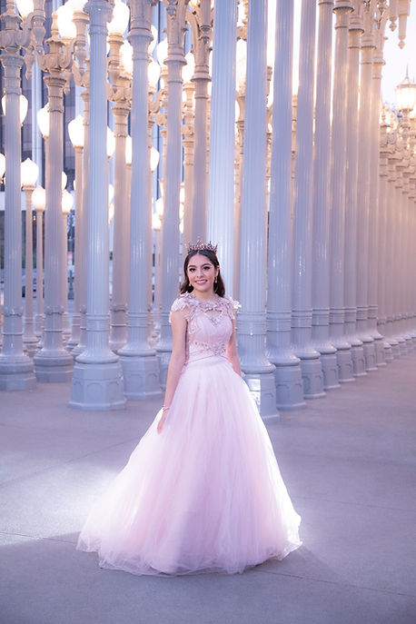 Los Angeles Quinceanera photographer