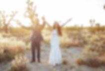 Joshua tree elopement photography