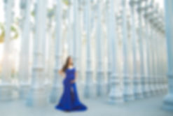 LACMA Lights maternity photo session Los Angeles Photographer