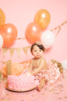 Cake Smash photographer in Orange County