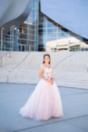 Walt Disney Concert Hall Quinceañera photography
