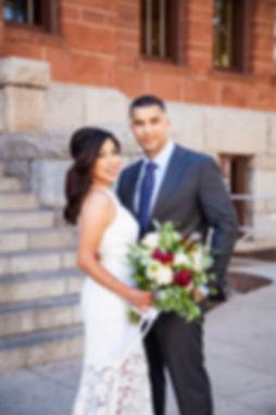 Santa Ana courthouse wedding photography