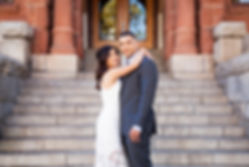 Santa Ana courthouse elopement photography