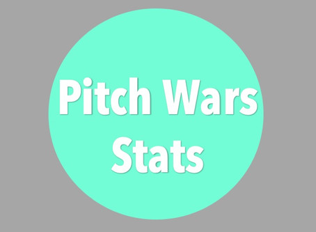 2019 #PitchWars Submission Stats
