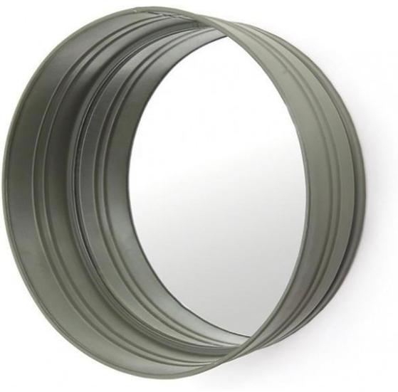 Metalen ronde spiegel