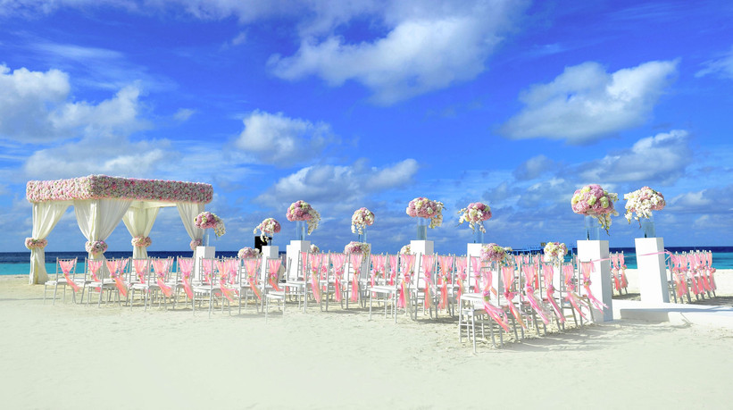Turquoise Sea Side Wedding & White Beaches.