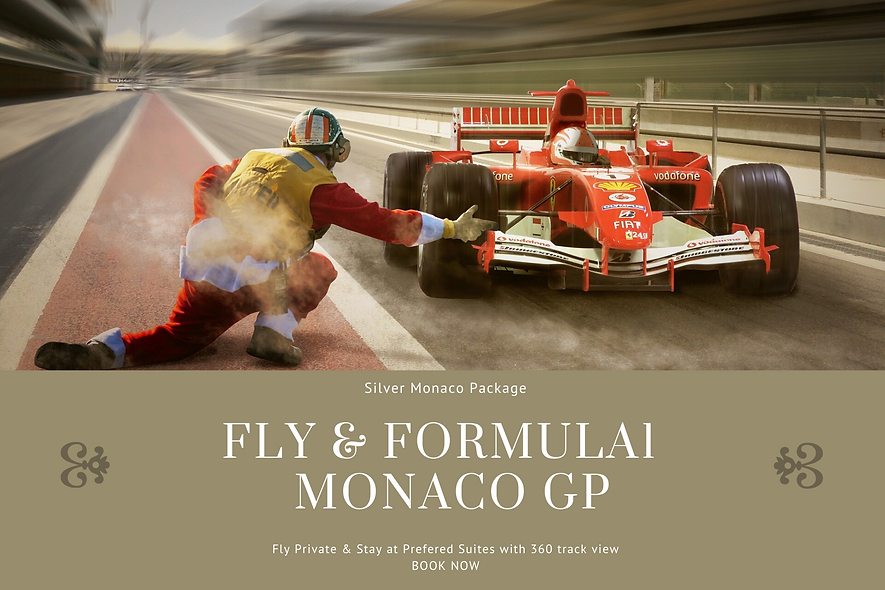 Fly & GP Monaco Silver Package