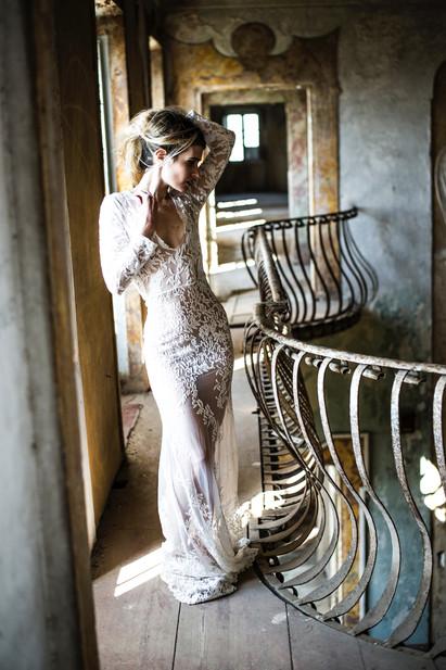 Wedding in Platinum Bride