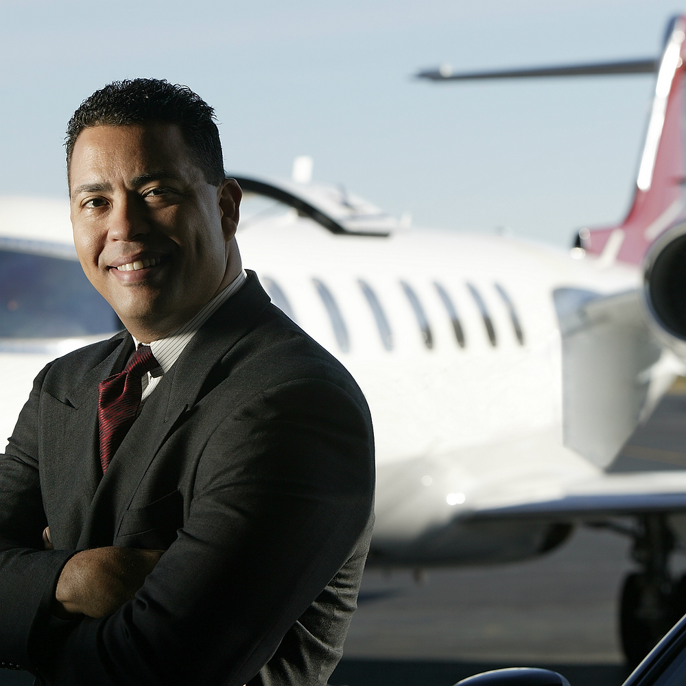 Safely flies people around the globe for business & leisure