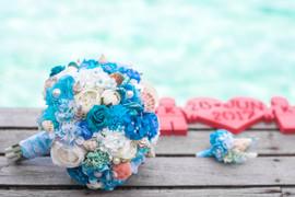 Beach Wedding Bouquet!