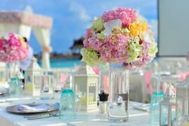 Pastel Table Bouquet.