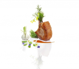 Duck Fennel Duo by Claude Legras