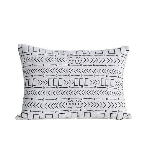 Lumbar Mudcloth Pillow