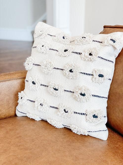 Flower Square Pillow