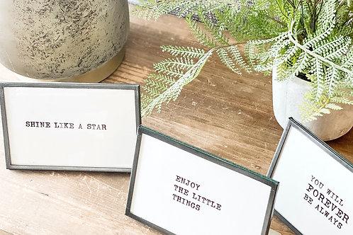 Typewriter Signs