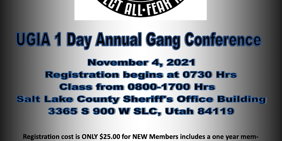 2021 One Day Gang Conference