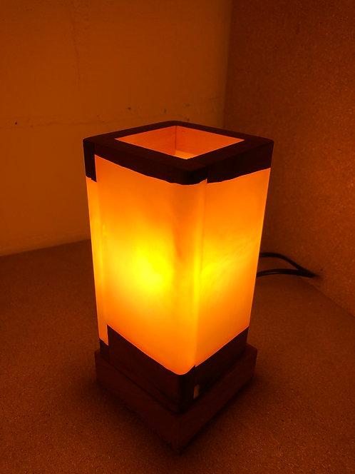Kirschholz Lampe