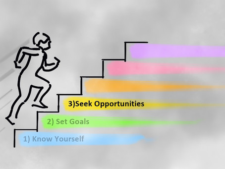 SIX STEPS TO THE JOB YOU WANT STEP 3 – SEEK OPPORTUNITIES