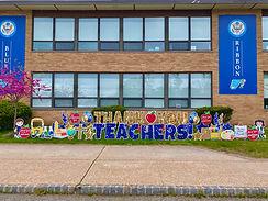 Teacher Appreciation Day - THANK  YOU TE