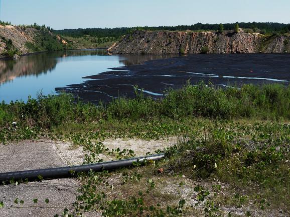 Coal Pond Near Mines