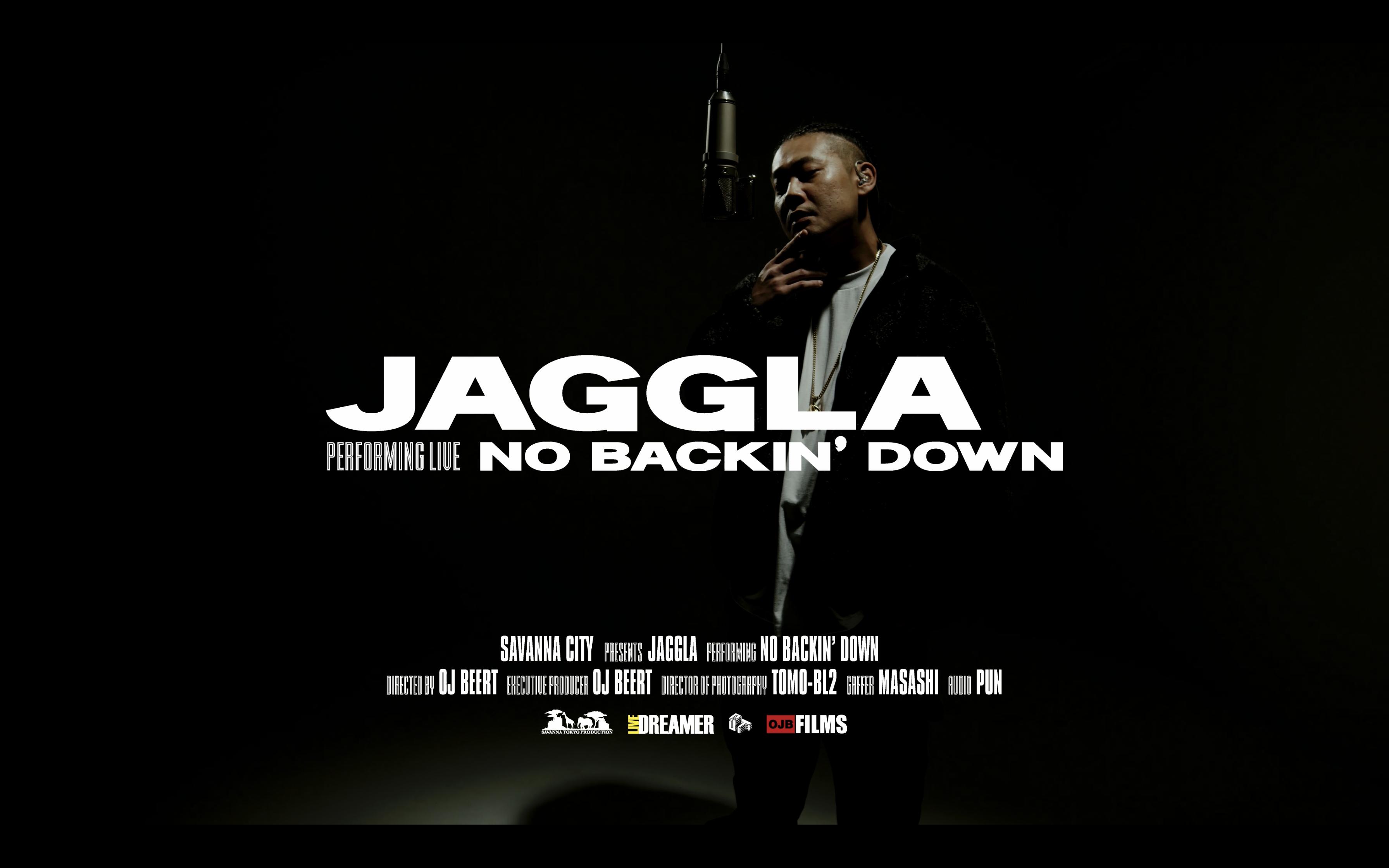 JAGGLA - No Backin' Down ( Live Session)   Savanna City