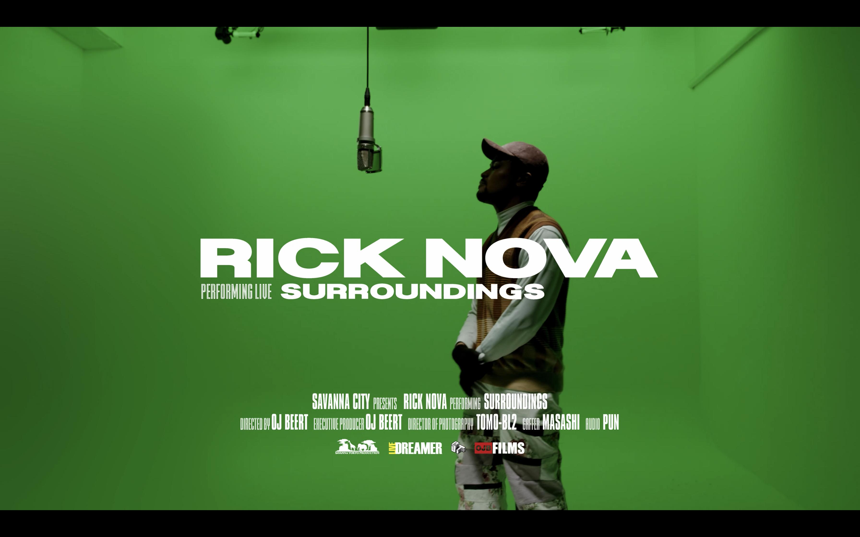 RICK NOVA - Surroundings ( Live Session)   Savanna City
