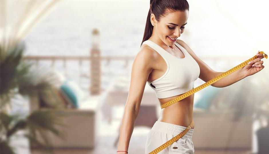 Weight loss, slim body, healthy lifestyl